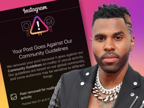 Jason Derulo reposts NSFW snap after Instagram bans his anaconda: 'I can't help my size'