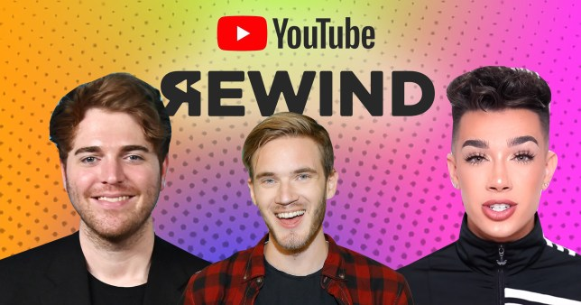 PewDiePie, BTS, James Charles and Shane Dawson confirmed for YouTube Rewind 2019 appearance