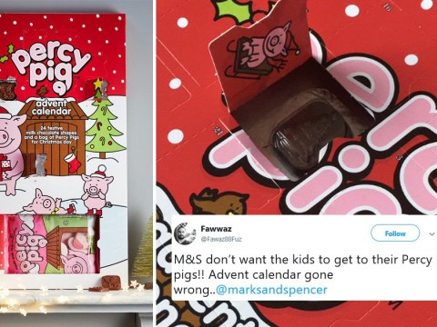 Customers fuming to discover Percy Pig advent calendars 'don't contain Percy Pigs'