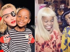 Madonna's daughters play dress-up in her most iconic outfits and we're totally jealous