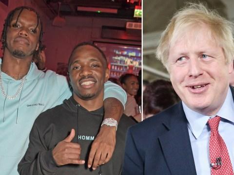 Krept & Konan tear into 'Boris Johnson' during huge London show before 'Liar'