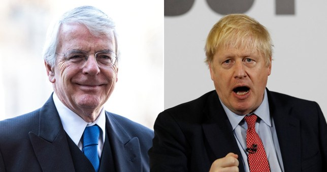 Former Tory PM John Major says he is not backing Tories at this election