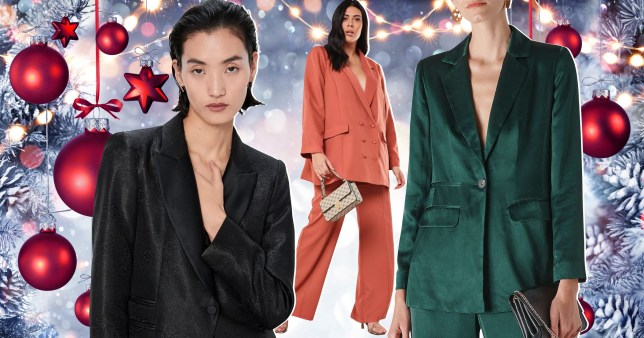Nine festive suits that will make you stand out at this year's Christmas party