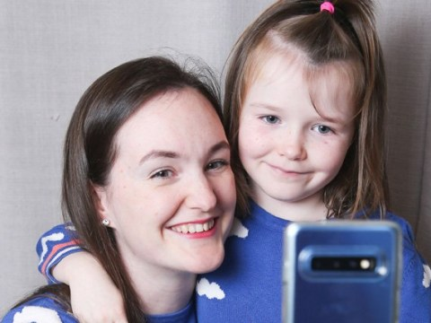 Mum says wearing matching outfits with her six-year-old daughter makes her feel young again