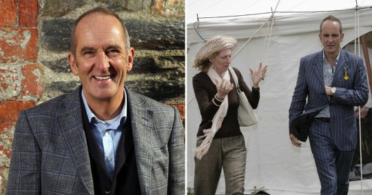 Grand Designs host Kevin McCloud 'leaves wife and family home' after 23 years of marriage