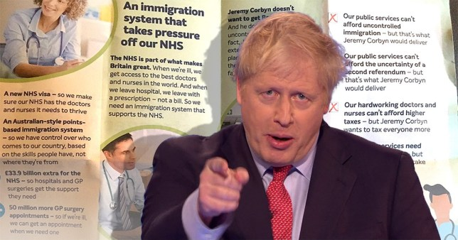 Voters blast Tories' NHS prescription-style election leaflets as 'disgusting'
