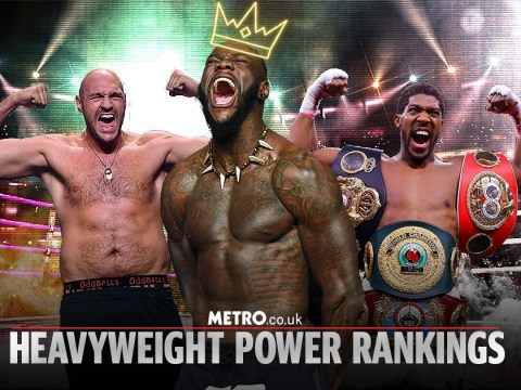 Metro.co.uk's Heavyweight Power Rankings: Deontay Wilder pips Tyson Fury & Anthony Joshua to top spot