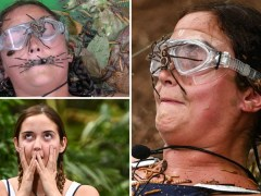 Jacqueline Jossa holds huge spider in her mouth in bid to win I'm A Celeb final