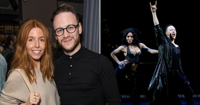 Kevin Clifton is trying to rope girlfriend Stacey Dooley into dancing with him on Burn The Floor tour
