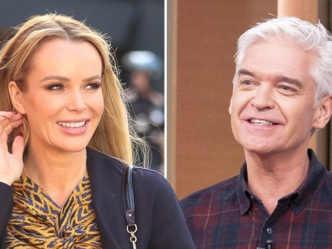 Amanda Holden throws shade at Phillip Schofield as she backs Ruth Langsford in ITV row