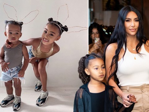 Kim Kardashian's daughter North and Chicago are Christmas twinning and we can't handle the cuteness