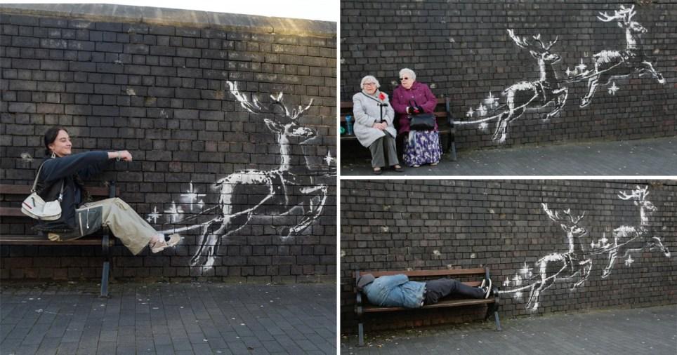 The mural has appeared in Birmingham
