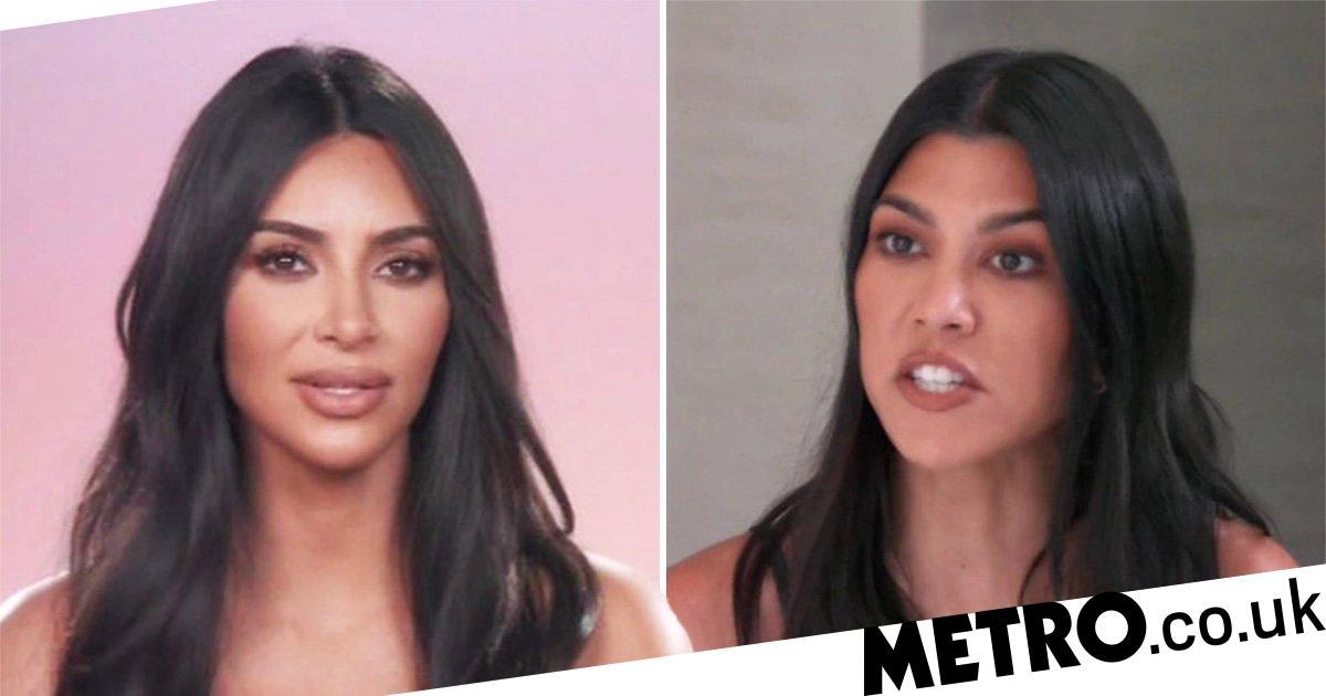 Kim Kardashian admits Kourtney feud turns 'a little violent'