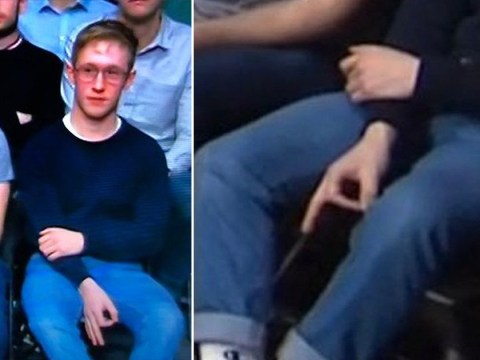 Man makes 'white power hand symbol' during election Question Time special