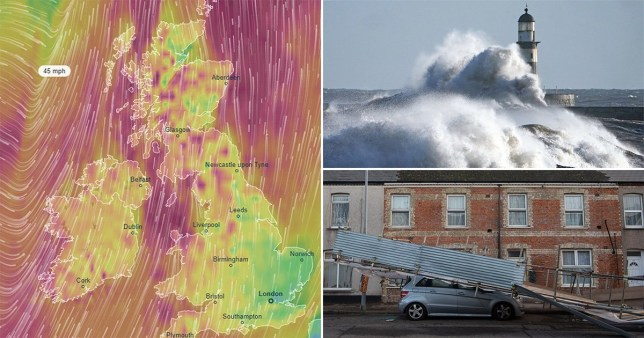 Today is still going to be wet and windy