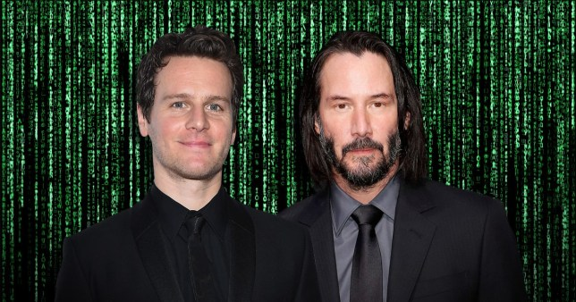 Jonathan Groff and Keanu Reeves