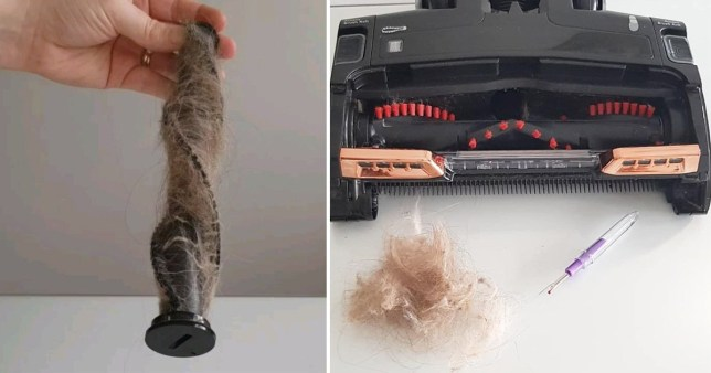 59p hack gets rid of hair caught in your vacuum cleaner and leaves it as good as new