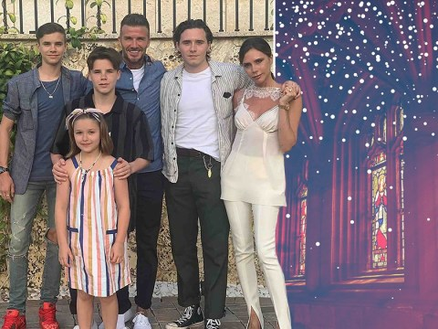 Ho ho ho and a Hail Mary: The Beckhams' festive Christening plans for Cruz and Harper
