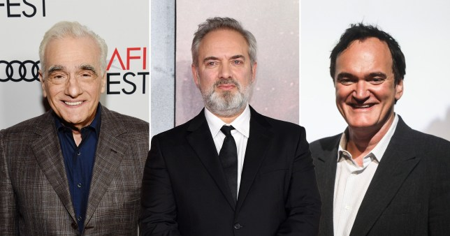 Image result for Directors scorsese and tarantino