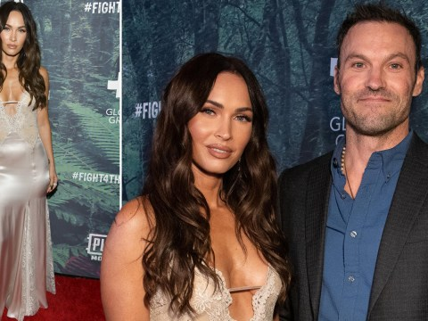 Megan Fox stuns as she's joined by husband Brian Austin Green for first time in six years on red carpet