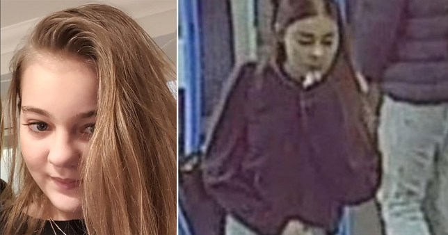 Fears for missing Atlanta Butler, 13, last seen on train to London
