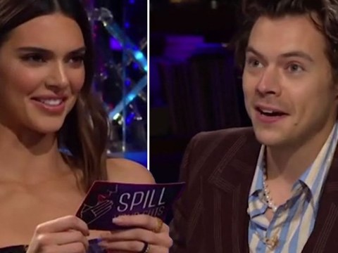 Are Harry Styles and Kendall Jenner dating as they appear together on the Late Late Show?