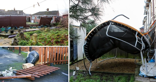 Stoke tornado throws tiles from roofs and pulls down power lines