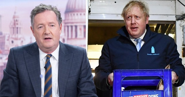 Piers Morgan was disappointed not to get an interview
