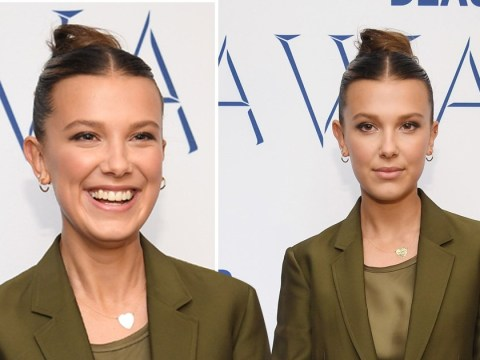 Millie Bobby Brown shrugs off tutorial backlash as she makes beauty career headway at WWD Beauty Inc Awards