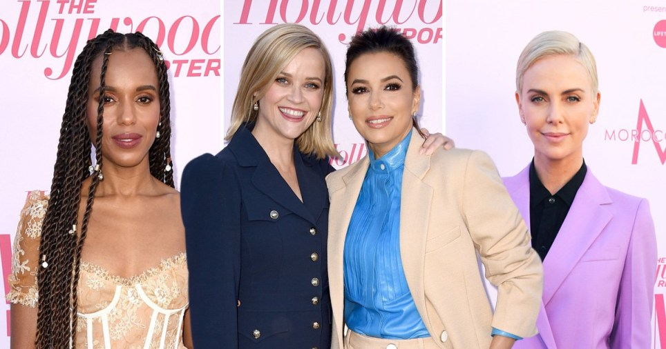 Reese Witherspoon, Eva Longoria and Charlize Theron lead red carpet at Hollywood Reporter's Power 100 Women In Entertainment gala