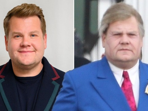 James Corden transforms into the ultimate senior citizen while filming for new Netflix movie The Prom