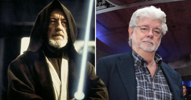 George Lucas and Obi-Wan