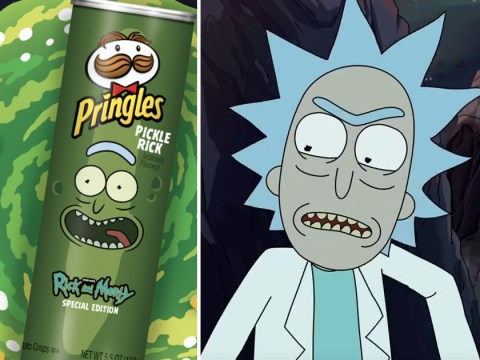Rick And Morty pickle flavoured Pringles are to be released and we are intrigued