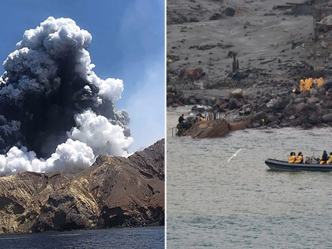 Six bodies retrieved from island after New Zealand volcano eruption