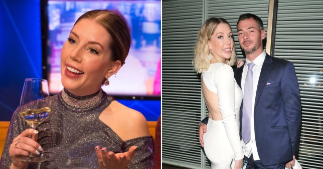 Katherine Ryan makes boyfriend her civil partner as she jokes she didn't want to 'pretend to be a virgin' at wedding