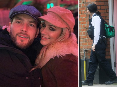 Police spotted at Caroline Flack's house after Love Island star's assault charges