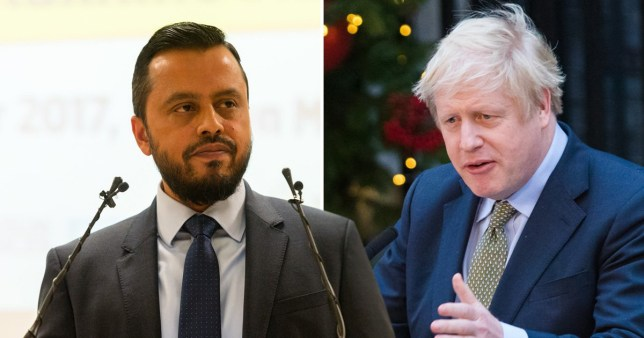Harun Khan, Secretary General of the Muslim Council urged Boris Johnson to bring the nation together