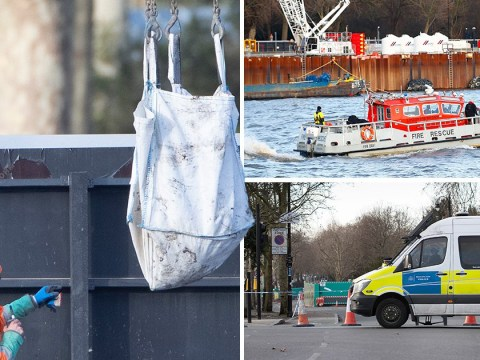 Roads closed after World War Two bomb found near River Thames