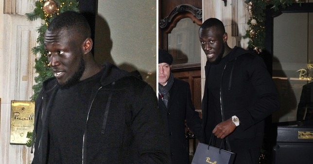 Stormzy puts political woes behind him to get Christmas shopping done