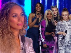 Leona Lewis defends X Factor: The Band's quick turnaround ahead of live finals