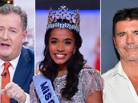 Piers Morgan tells Simon Cowell to snap up new Miss World winner as his next music star