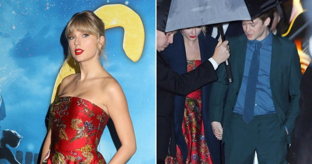 Joe Alwyn Supports Taylor Swift As Pair Hold Hands At Cats Premiere Metro News