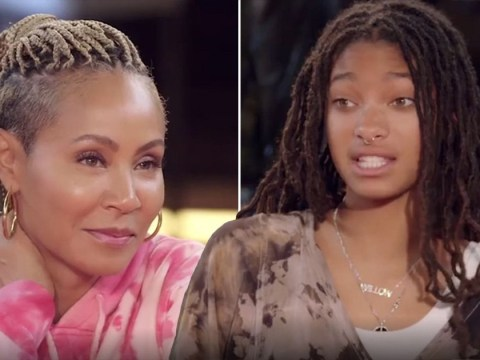 Jada Pinkett Smith discovers she has stomach parasite and Willow can't cope: 'It's like Alien'