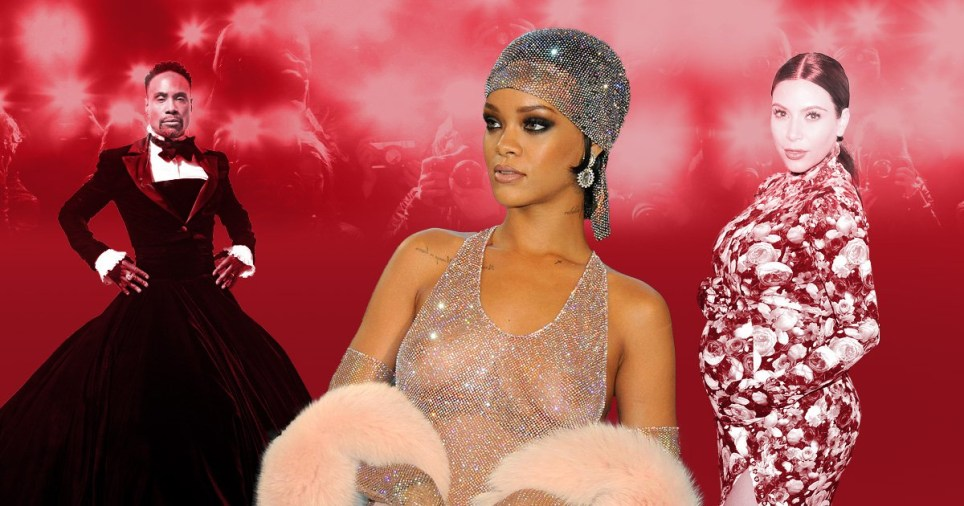 Rihanna, Billy Porter and Kim Kardashian