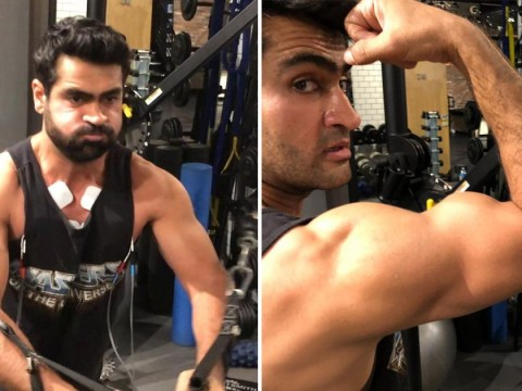 Marvel's Kumail Nanjiani hardcore Eternals workout revealed as he gets ripped in thirst trap photo