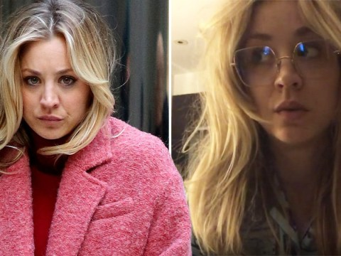The Big Bang Theory's Kaley Cuoco opens up on 'challenging' The Flight Attendant in sleepy Instagram video: 'I've never worked like this'