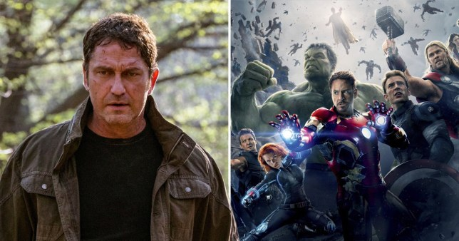 Angel Has Fallen and Avengers: Age Of Ultron