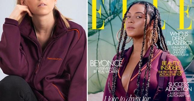 Beyonce Sainsburys