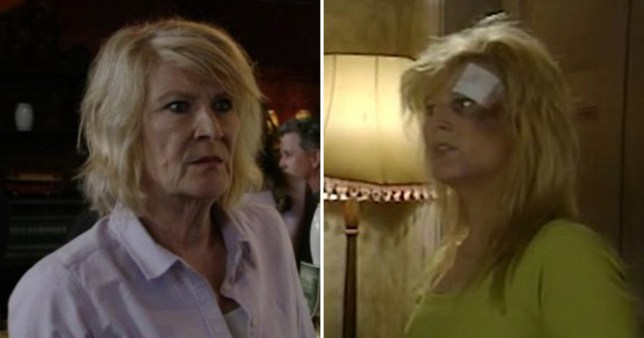 Linda Henry as Lorraine Salter in EastEnders