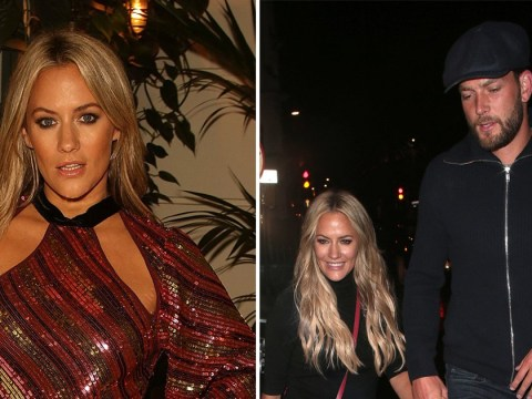 Caroline Flack's family and friends with her 'round the clock' as she moves into a hotel following arrest